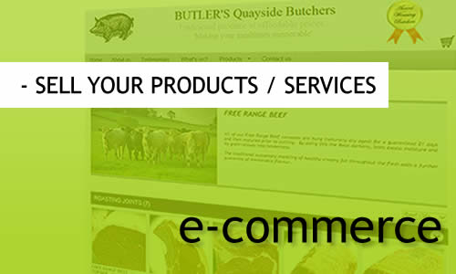 MR Websites: sell your products and services online.