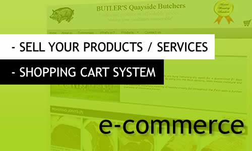 MR Websites Shopping Cart Systeem
