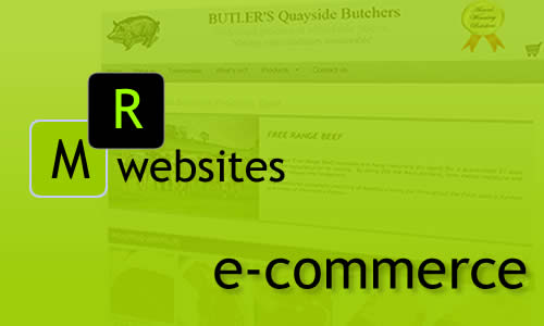 MR Websites e-commerce sites: sell your products and services online. MR Websites Shopping Cart Systeem. Checkout and Payment Gateway, offer your clients to buy and pay online