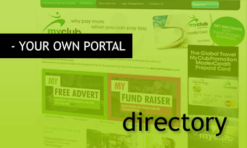 Manage your own MR Websites Portal or directory.
