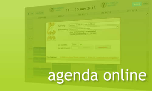 MR Websites online Agenda System