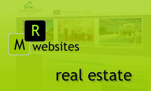 MR Websites expert in real estate websites. Logical search engine tool. Image slide shows, responsive video implementations. Bespoke back offices